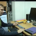 Botones de navegación del terminal Braille