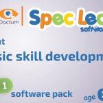 SpecLearn 1. – Softwarový balíček her pro rozvoj základních dovedností