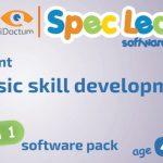 SpecLearn 1. – Softwarepakket voor de ontwikkeling van basisvaardigheden in ontwikkelingsspellen